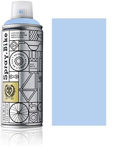 Lack-rahmen (Fahrrad Lackspray in versch. Farben - KEINE GRUNDIERUNG notwendig - Acryllack / Lack Spray in 400 ml Spraydose, Matt- und Klarlack Optik möglich (Lavendelblau