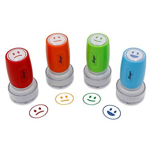(miseyo pre-ink Lehrer Stempel Set–4der Farbe Expressions)