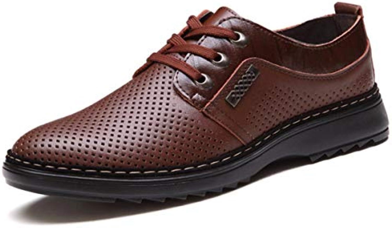 KPHY Chaussures Femmes/Les Chaussures en Cuir Les Chaussures Évidé Loisirs Le Cravate Tête Ronde Le Loisirs Jaune Quarante...B07G79NZ92Parent 3c644d