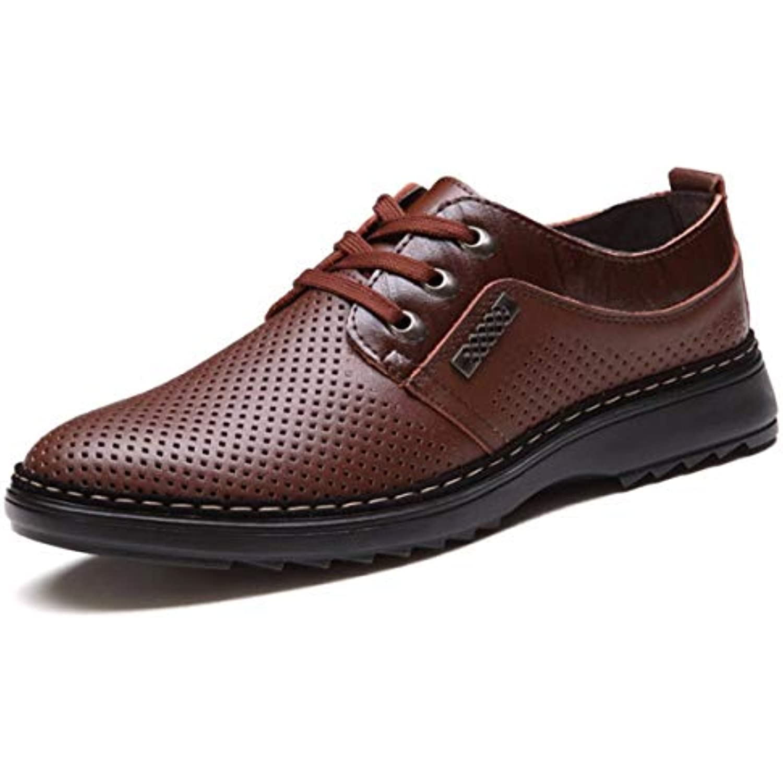 KPHY Chaussures Femmes/Les Chaussures en Cuir Les Ronde Chaussures Évidé Loisirs Cravate Tête Ronde Les Le Jaune Quarante - B07G7C5CJC - 6d878a