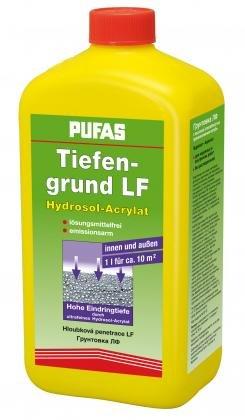 Pufas Tiefengrund LF Acryl-Hydrosol - Haftgrund für Farben 2,5 Liter