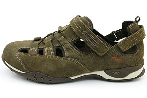 Allrounder by Mephisto , Mocassins pour homme Taupe