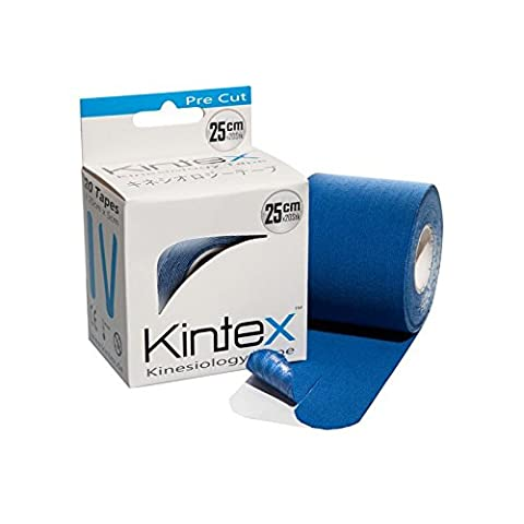 Kinesiologie tape PReCut 20 Streifen (I oder Y) 25cm x 5cm je Rolle Farbe: Blau