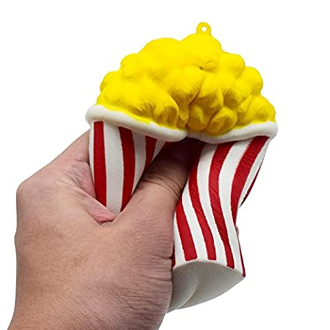 Stress Reliever Toys, Toamen Squeeze Popcorn Cup Squishy Slow Rising