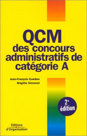 QCM des concours de la catégorie A