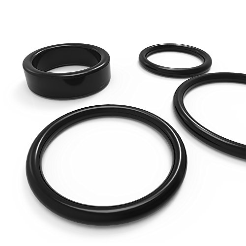 Preisvergleich Produktbild Pleasure ring Set Cock-ring 4 stück Silikon,  Potenzsteigerung