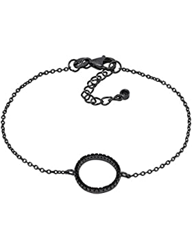 Armband Kreis schwarz