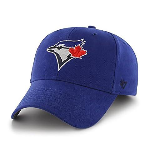 MLB Toronto Blue Jays Basic MVP Adjustable Hat, Youth, Royal