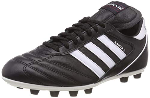 Adidas–Kaiser 5Liga, Herren Fußballschuhe, Schwarz (Black/Running White Ftw), 43 1/3 EU