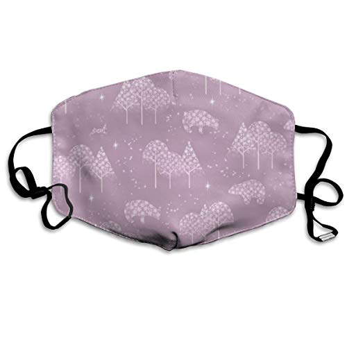 Winter Snow Vieux Rose Anti Dust Mask Anti Pollution Washable Reusable Mouth Masks -