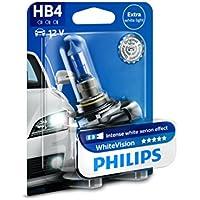 Philips WhiteVision Xenon-Effekt HB4 Scheinwerferlampe 9006WHVB1, Einzelblister
