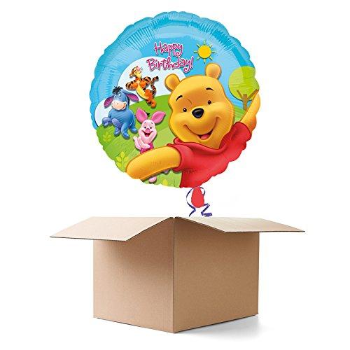 Ballongrüsse HB, Winnie the Pooh, 1 Ballon (Winnie The Pooh Themen Kostüme)