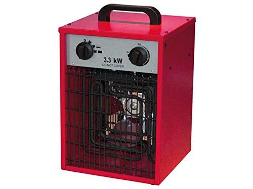 Toolland TC78070 Elektroheizer Heizlüfter Bau heizer Bauheizer, IPX4, 3300W - 2