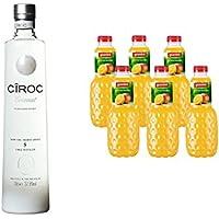 Ciroc Coconut Ultra Premium Vodka (1 x 0.7 l) mit Granini Trinkgenuss Orange-Mango (6 x 1 l)
