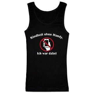 Kindheit Ohne Handy. Ich War Dabei. Women's Tank Top Shirt Small