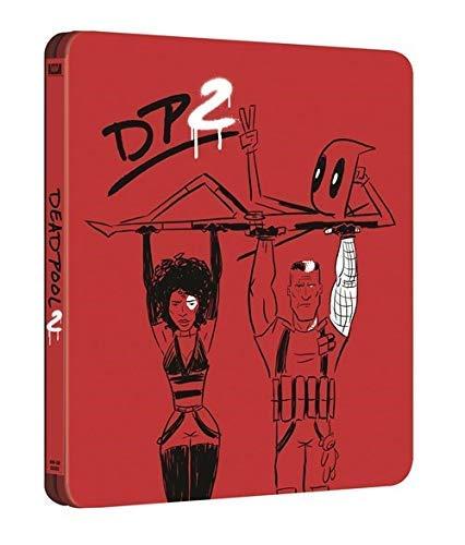 Deadpool 2 Steelbook 4k UHD+Bluray + digital copy UnRated + Theatre Limited Edition 4 Disk Bluray Region