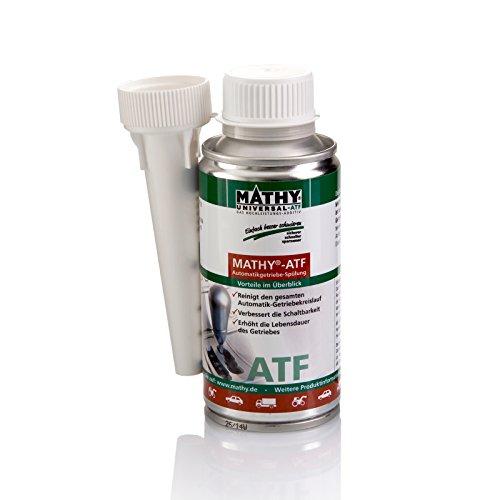 Mathy-ATF detergente per cambio automatico (150ml). Elimina problemi e aumenta la durata di del cambio automatico e DSG getrieben. sufficiente per fino a 6,0L olio del cambio.