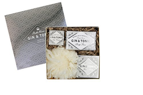 Gin & Tonic Gift Box Set by Bath House