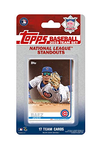2019 Topps National League All Stars Factory Sealed Limited Edition 17 Karten Team Set mit Clayton Kershaw, Ronald Acuna und Kris Bryant Plus - Baseball-karten Topps