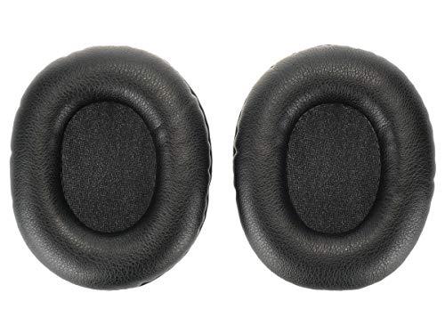 WEWOM 2 Cuscinetti di ricambio per auricolari Turtle Beach Ear Force XO7 & Recon 50, neri