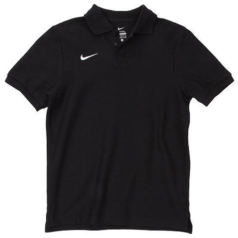 Nike TS BOYS CORE POLO Polo Garçon Black/White FR: S (Taille Fabricant: S)