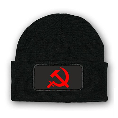 Mütze / Beenie - Hammer und Sichel Udssr CCCP DDR Sozialistisch Kommunismus...