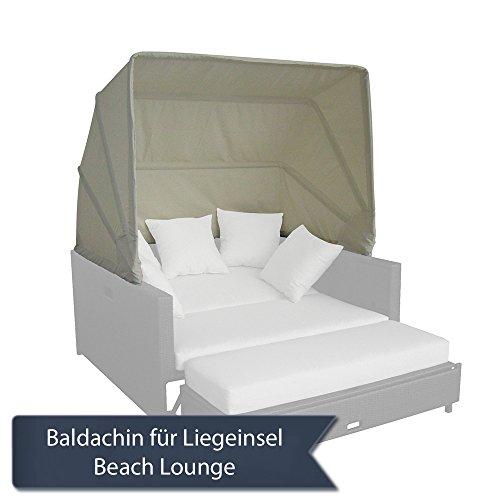 Strandkorbwerk Baldachin/Sonnenverdeck für Beach Lounge Domus Ventures Liegeinsel