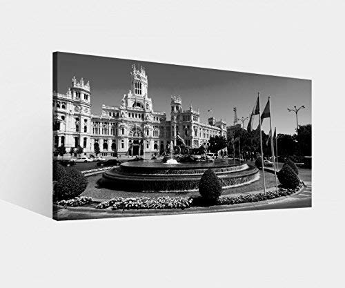 Foto Lienzo Madrid España Paisaje Urbano Cibeles