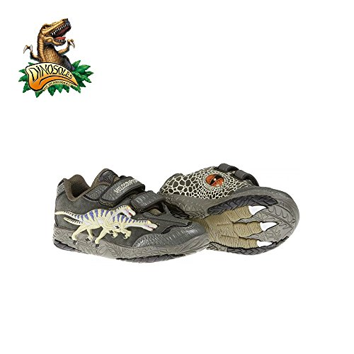 Dinosoles 3D Dinosaurus Twin-Velociraptor shoe(Children/Todder/Little kid)