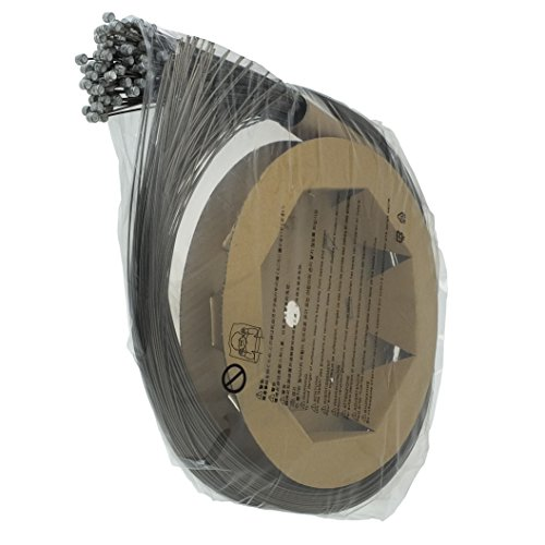 SHIMANO Y80098551 Bremszüge & -hüllen & -führungen, Schwarz, 1.6 mm