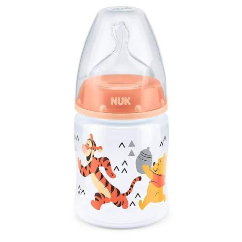 3 Medium Luft (Erste Auswahl + von Nuk Disney Baby 150ml Fütterung Flasche 0-6m Winnie Pooh)