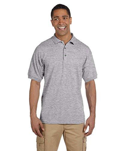 Maglietta da uomo, in cotone Piqué di Polo Sport grigio (Camicia In Cotone Piqué Sport)