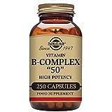 Solgar B-Complex Vegetable Capsules, 250 Count by Solgar