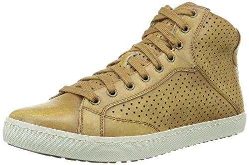 Geox U Hix B, Baskets Hautes Homme Marron (C6025)
