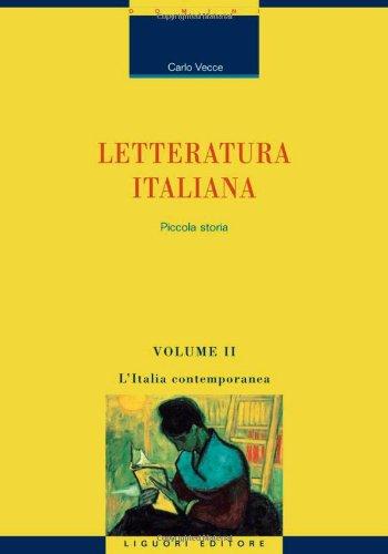 Letteratura italiana. Piccola storia: 2