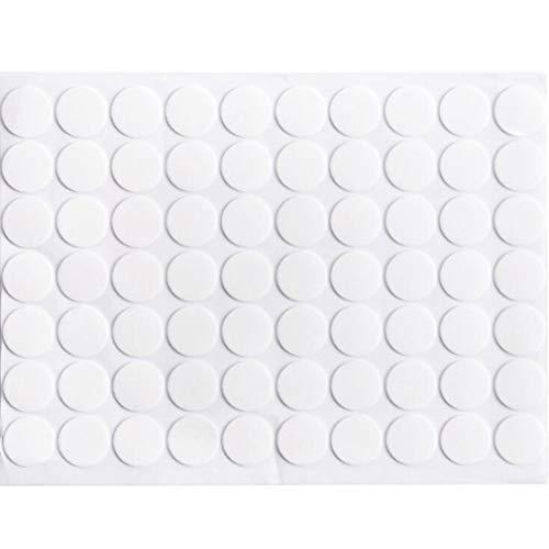 L_shop Clear Dot Aufkleber DIY Fertigkeit Selbstklebende Etiketten Runde Form wasserdichte Transparente Aufkleber -