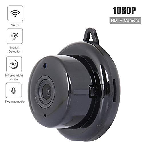 Lqqsxt Kamera Mini-IP-Überwachungskamera Die drahtlose Webcam-Fernbedienung für HD-Mobiltelefone unterstützt Bewegungserkennung/Infrarot-Nachtsicht für die ganze Familie -
