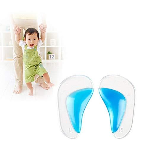 YUANID Plantillas de Gel para niños pies planos