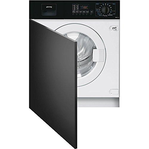 Smeg LBA10N-2 Incasso Caricamento frontale 7kg 1000Giri/min A++ Nero, Bianco lavatrice