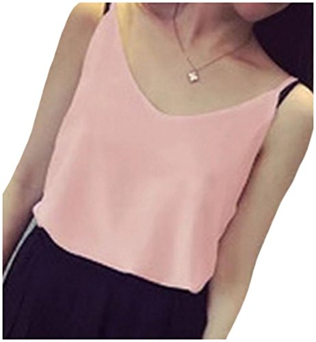 Tootlessly-Women Damen Bluse Gr. Small, rose -