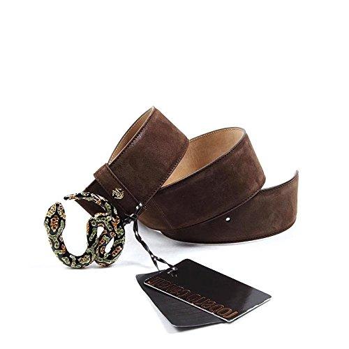 Cintura Donna Roberto Cavalli Limited Edition Snake MPC094 PC090 - Colore - Marrone, Taglia - S
