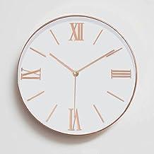 Foxtop 12 pulgadas universal reloj de pared silencioso interior con número romano