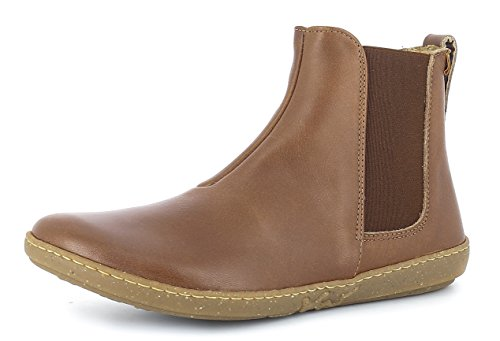 El Naturalista N5307 Coral Damen Chelsea Boots,Frauen Stiefel,Halbstiefel,Stiefelette,Bootie,Schlupfstiefel,Flach,Cuero,EU 38