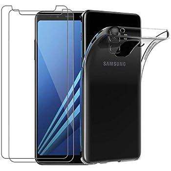 MYCASEFC Coque Samsung Personnalisable Equipe DE France 2 Etoiles Silicone (Samsung Galaxy A8