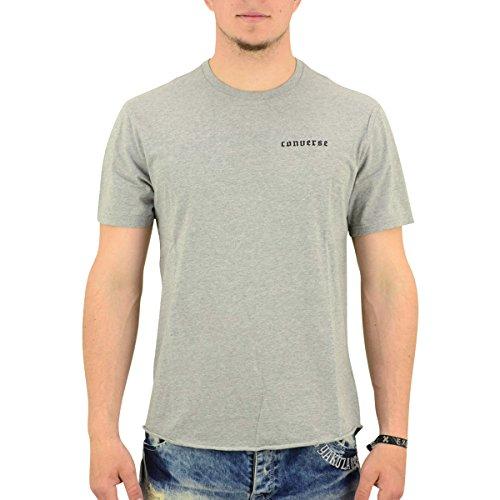 Converse T-Shirt Männer Black Flag B-Ball Tee grau meliert - L