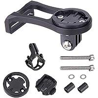 huici support ordinateur de vélo, vélo en alliage d'aluminium Stem extension de support pour GPS/chronomètre/caméra de sport