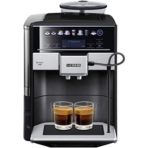 Siemens EQ.6 plus s500 TE655509DE Kaffeevollautomat EQ.500 Edelstahl