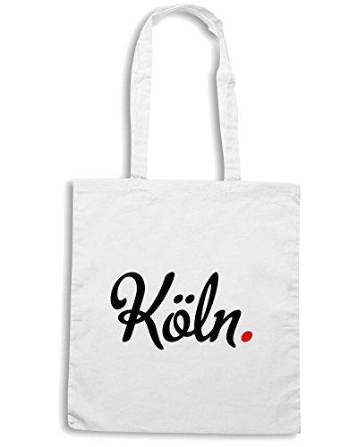 T-Shirtshock - Borsa Shopping OLDENG00158 kln Bianco