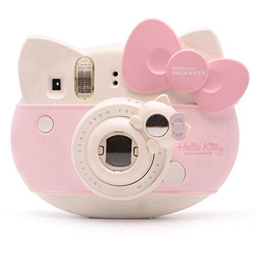 Süßes Kätzchen Selfie und die Nahaufnahme Lens für Fujifilm Instax Mini8 Mini12s Hellokitty Instant Kamera(weiß Kätzchen) Hello Kitty Kamera