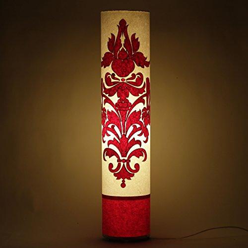 cartouche-white-red-ppaer-shade-indoor-floor-lamp-living-bedroom-modern-light